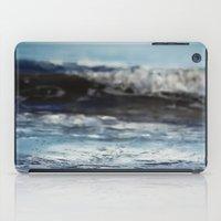 Blue 'tilt' wake iPad Case
