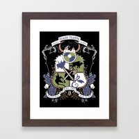 Dragon Training Crest - … Framed Art Print