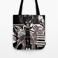 The Girl, Her Dog And A … Tote Bag