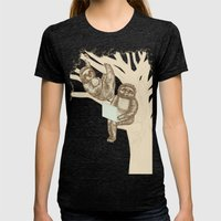 Evolution Womens Fitted Tee Tri-Black SMALL