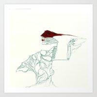UnHuman#13 Art Print