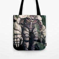 Death Colossus Tote Bag