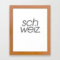 SCH Framed Art Print