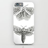 iPhone & iPod Case featuring Moth Study by Trisha Thompson Adams