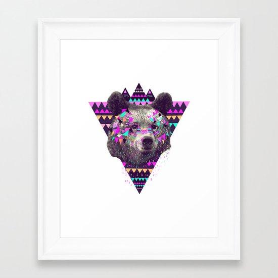 Piñata BEAR  Framed Art Print