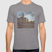 Crouse College, Syracuse… Mens Fitted Tee Tri-Grey SMALL