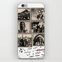 feel the life of Red Indian #2 iPhone & iPod Skin