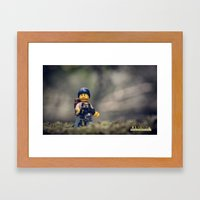 Everything Is Awesome Ra… Framed Art Print