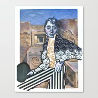 Who In the World Am I? Ah, That's the Great Puzzle Canvas Print