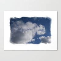 Clouds Over Hill Canvas Print