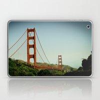 The Golden Gate Bridge A… Laptop & iPad Skin