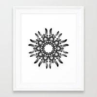 Donkey Kaleidoscope  Framed Art Print