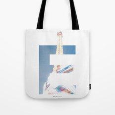 E for Eiffel Tote Bag