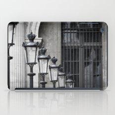 Parisian Streetlamps iPad Case