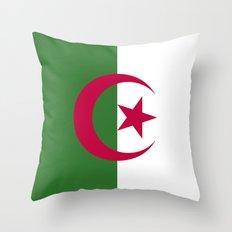 Algeria Flag Throw Pillow