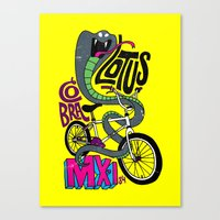 Lotus BMX Canvas Print