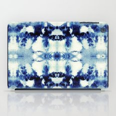 Tie Dye Blues iPad Case