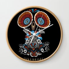 Mexican Owl Wall Clock