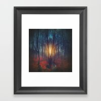 cRies and whiSpers Framed Art Print