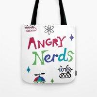 Angry Nerds Tote Bag