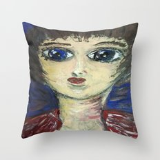 THE GIRL WHO PROTECTED OTHERS FROM TRENT Throw Pillow
