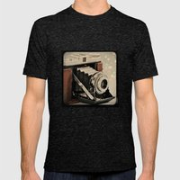 Vintage Camera Magic Mens Fitted Tee Tri-Black SMALL