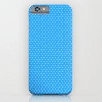 Picnic Pals mini dot in blueberry iPhone 6 Slim Case