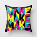MYCK Throw Pillow