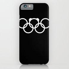Olympic games logo 2014. Sochi. Bear. iPhone 6 Slim Case