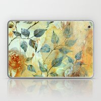 Roses And Orange Splash Laptop & iPad Skin