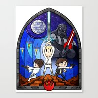Window to A New Hope Canvas Print