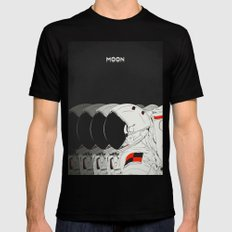 M. SMALL Black Mens Fitted Tee