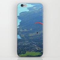 Alone In The Sky iPhone & iPod Skin
