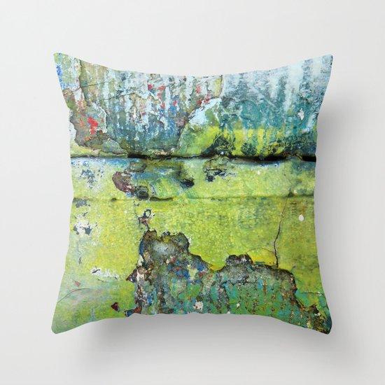 Unsettled Throw Pillow