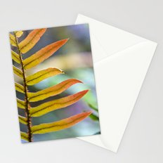 Technicolor Leaf Stationery Cards