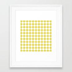Franzen Yellow Framed Art Print