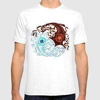 Vaatu And Raava Mens Fitted Tee White SMALL