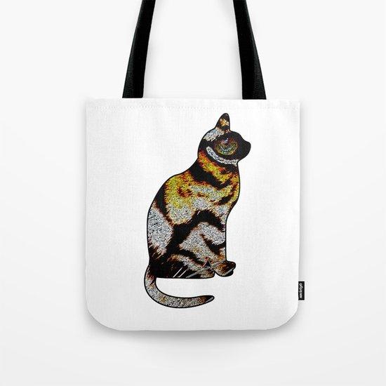 CAT TIGER Tote Bag