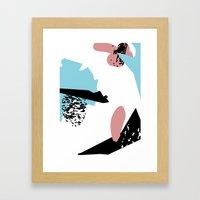 Flawless Penguin Framed Art Print