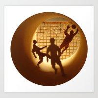 Football Art Print