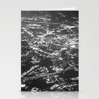 Fly Over Cities Stationery Cards