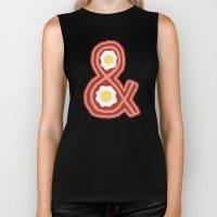 Bacon & Eggs Biker Tank