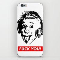 Albert Einstein. Rebel: … iPhone & iPod Skin