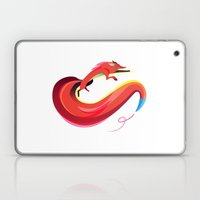 Fox painting the skyline Laptop & iPad Skin