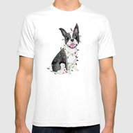 A Very Furry Christmas Mens Fitted Tee White SMALL