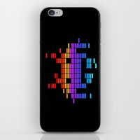 Space Equaliser iPhone & iPod Skin