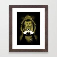 Evil Queen Framed Art Print