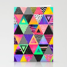Quirky Triangles Stationery Cards
