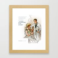 The Great Gatsby_see You… Framed Art Print