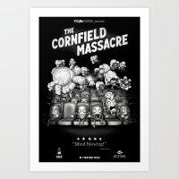 The Cornfield Massacre Art Print